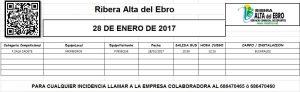 10 JORNADA AUTOBUSES 28 DE ENERO DE 2017