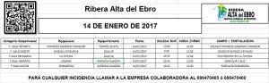 8 JORNADA AUTOBUSES 14 DE ENERO DE 2017